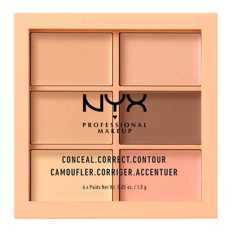 NYX Professional Makeup - Paleta Conceal, Correct, Contour