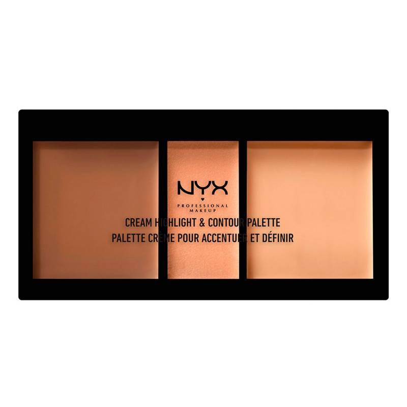 NYX Professional Makeup - Paleta De Brillo & Contorno Highlight & Contour Palette