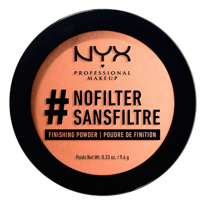 NYX Professional Makeup - Polvo Compacto No Filter Finishing Powder
