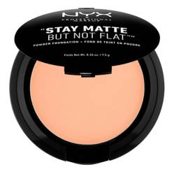 Polvo Compacto-Stay Matte But Not Flat! Powder Foundation