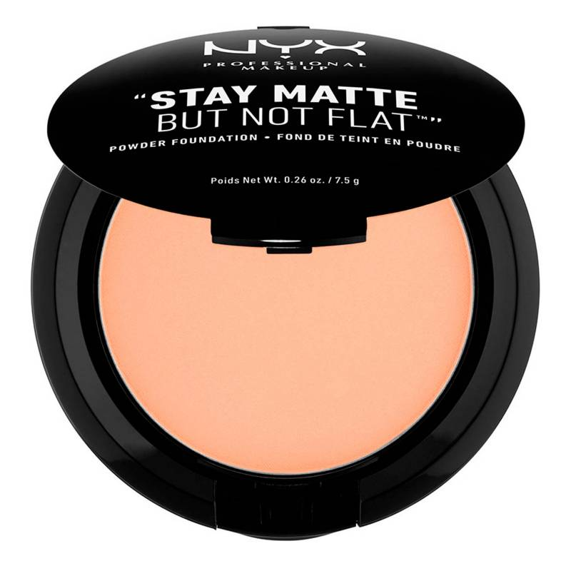 NYX Professional Makeup - Polvo Compacto-Stay Matte But Not Flat! Powder Foundation