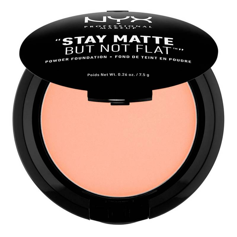 NYX Professional Makeup - NPM STAY MATTE NOT FLAT PWDRMEDIUM