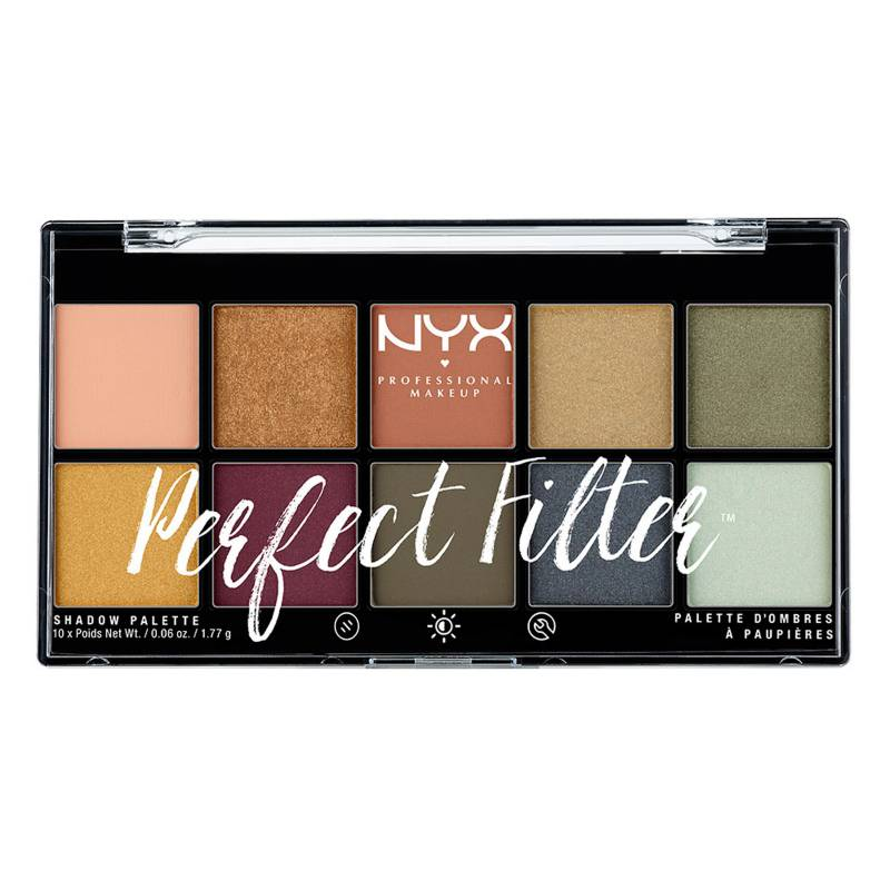 NYX Professional Makeup - Paleta de Sombras Perfect Filter PLT Gloomy Days