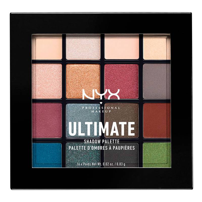 NYX Professional Makeup - Paleta de Sombras-Ultimate Shadow Palette