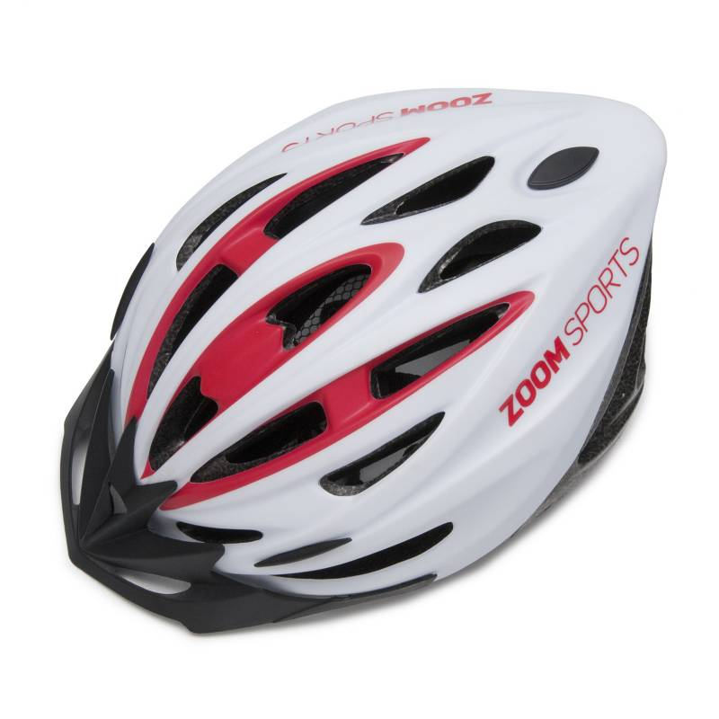 Zoom Sports - Casco para bicicleta Zoom Sports