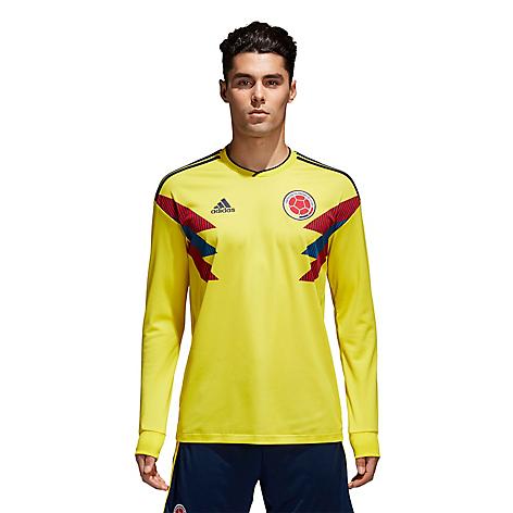 Camiseta Oficial Selección Colombia Manga Larga. 61% d4c2774d324