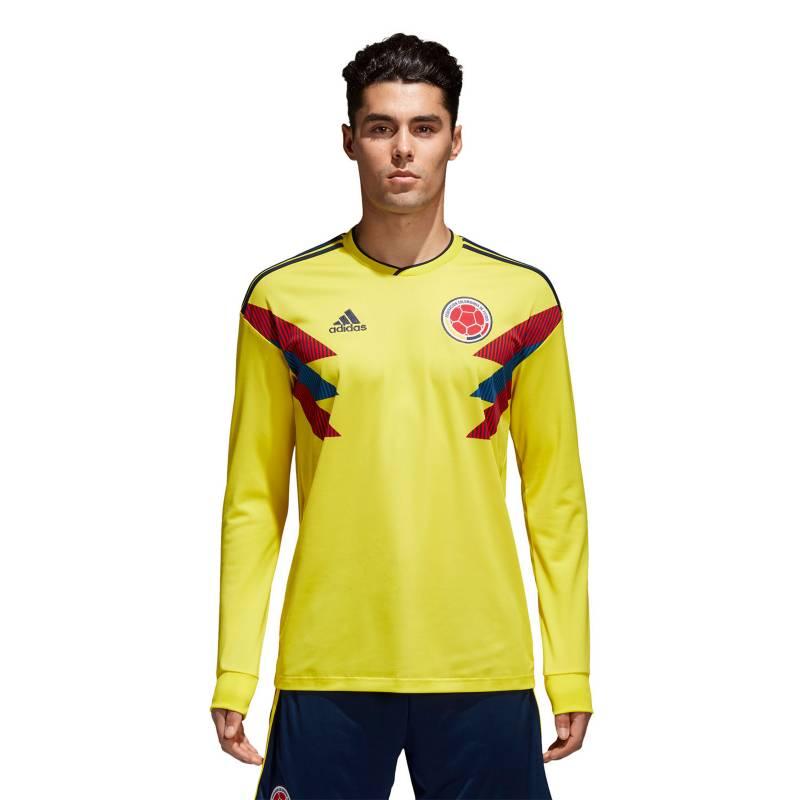 Adidas - Camiseta Oficial Selección Colombia Manga Larga