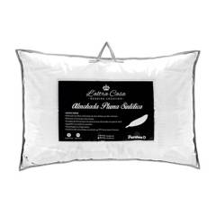 Colchones Paraiso - Almohada con Pluma Sintética y Apoyo Firme de 50 x 70 cm
