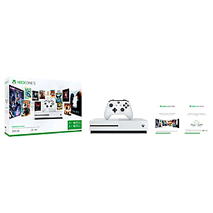 Consola Xbox One S 500GB + Gamepass