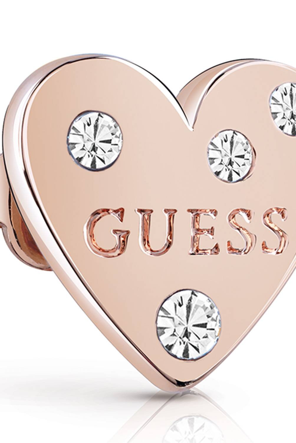 Guess - Aretes Guess Heart In Heart UBE84005