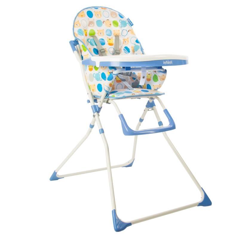 Infanti - Silla Comedor Plegable Candy Azul