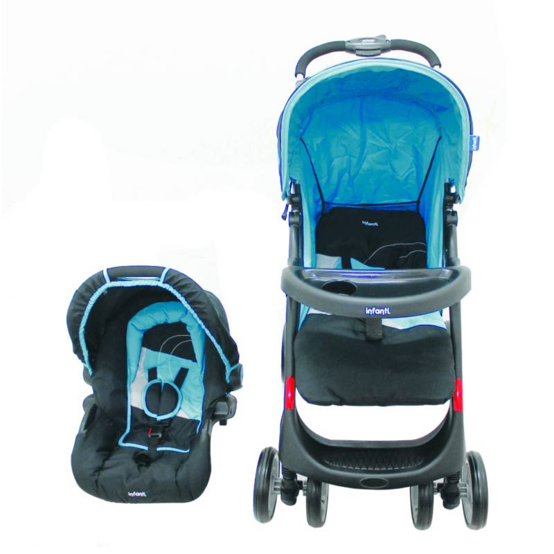 Infanti - Coche Travel Sys Pompeya E30 Board Azul