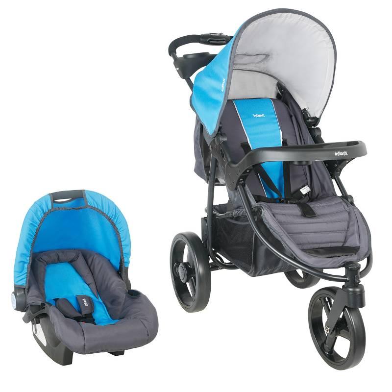 Infanti - Coche Travel System Tizzy P60 Azul