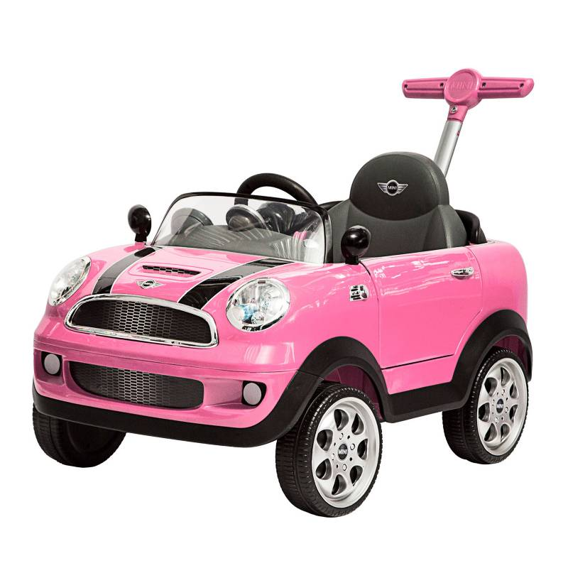 Prinsel - Push Car Minicooper Pink