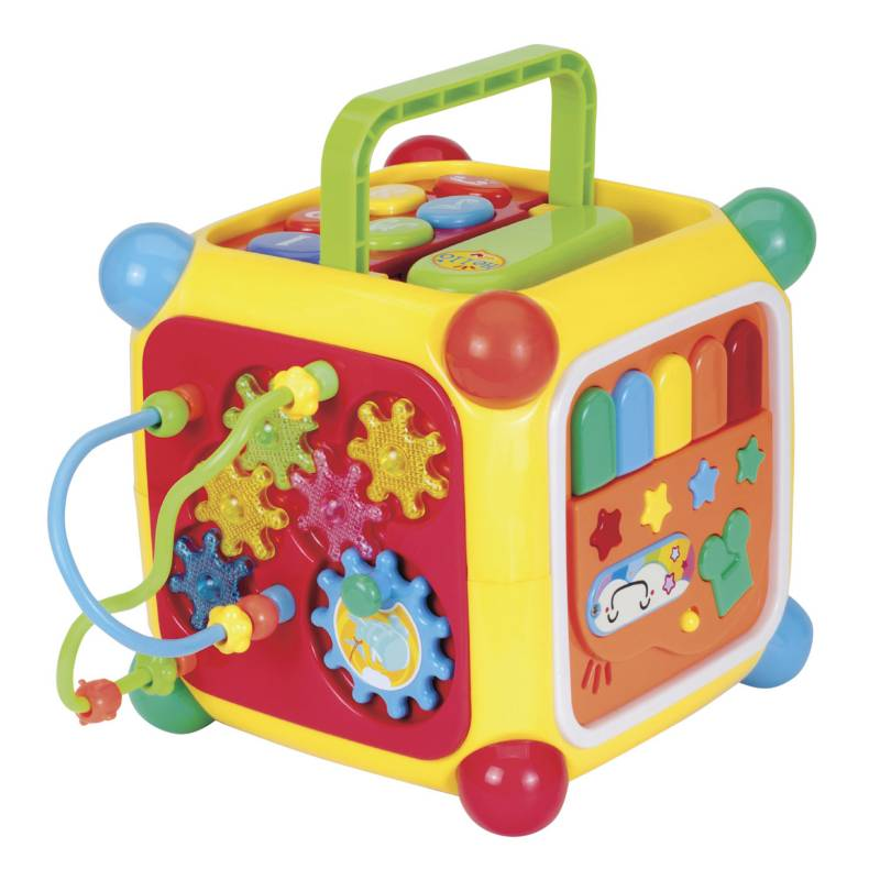 Toylogic - Juego Bebé Toylogic Cubo Interactivo