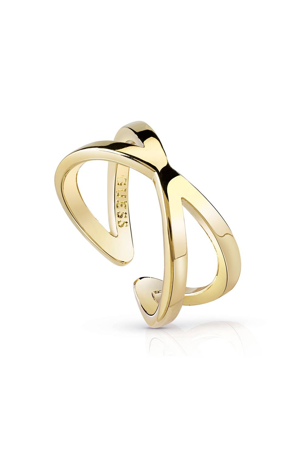 Guess - Anillo Guess Hoops I Did It Again UBR84005-54
