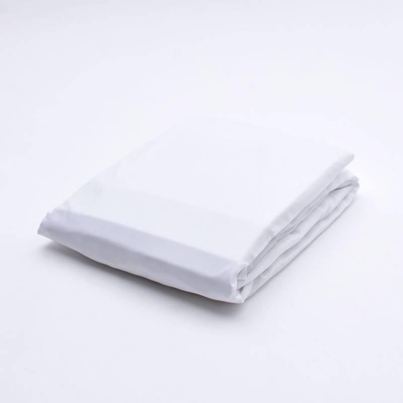 Distrihogar - Protector de Colchón Semidoble Antifluidos + Protector de Almohada Liso