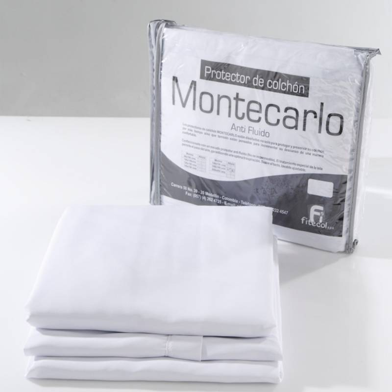 Montecarlo - Protector de Colchón Montecarlo Antifluido Queen