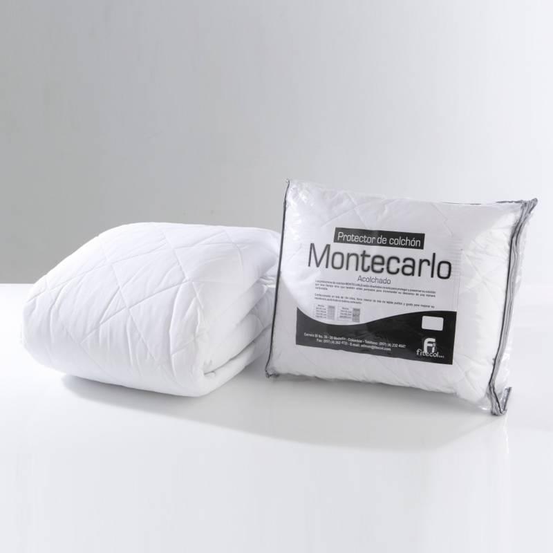 Montecarlo - Protector de Colchón Montecarlo Acolchado Semidoble