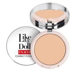 PUPA - Polvo Compactos Like A Doll - Nude Skin Compact Powder Pupa Tod tipo de piel 10 g