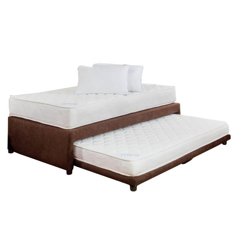 Mica - Diván Mica Funtional Bed Sencillo + Almohada