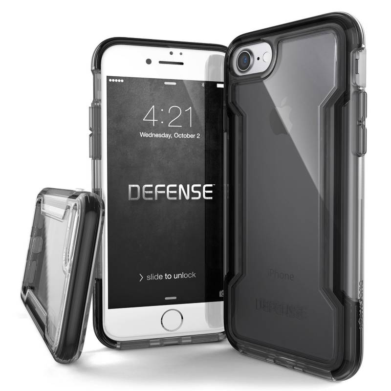 Xdoria - Estuche Xdoria Para Iphone 7/8 Defense Clear Negro