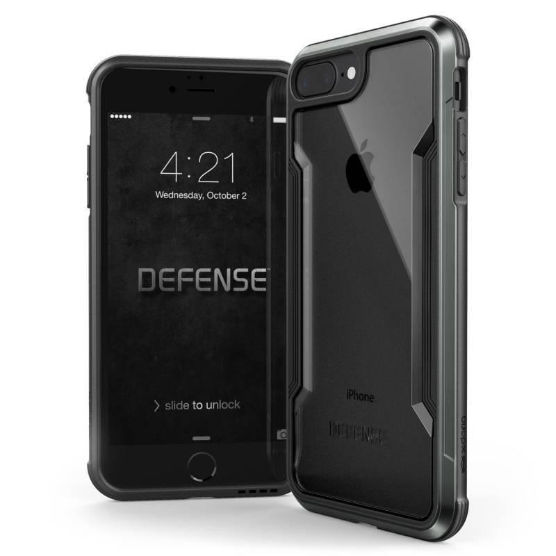 Xdoria - Estuche Xdoria Para Iphone 7/8 Plus Defense Shield Negro