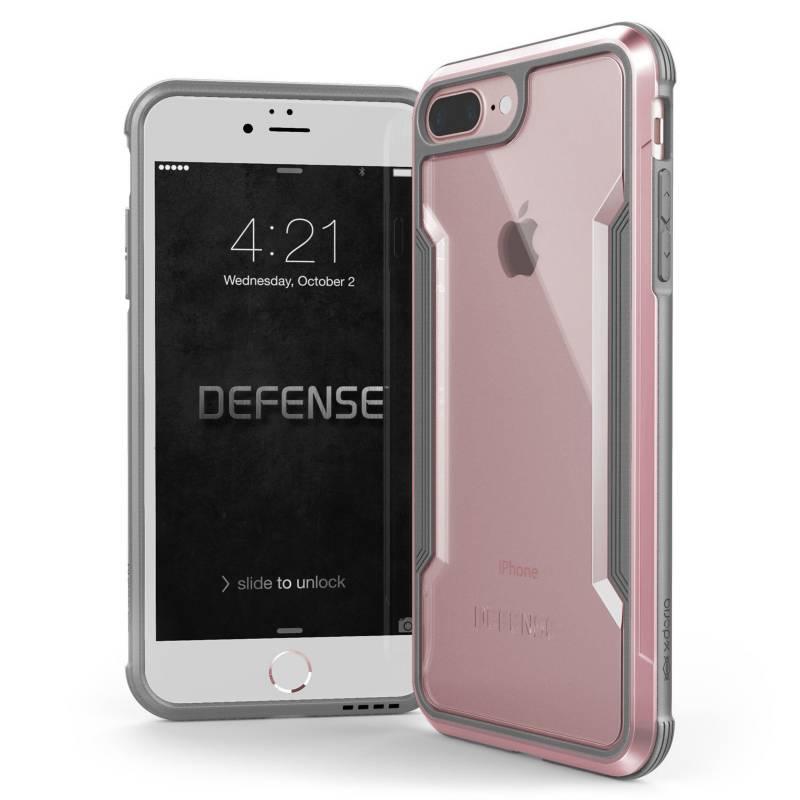 Xdoria - Estuche Xdoria Para Iphone 7/8 Plus Defense Shield Oro Rosa