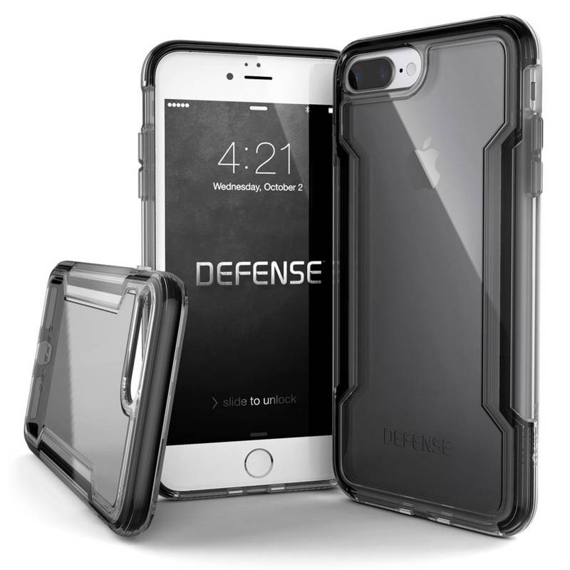 Xdoria - Estuche Xdoria Para Iphone 7/8 Plus Defense Clear Negro