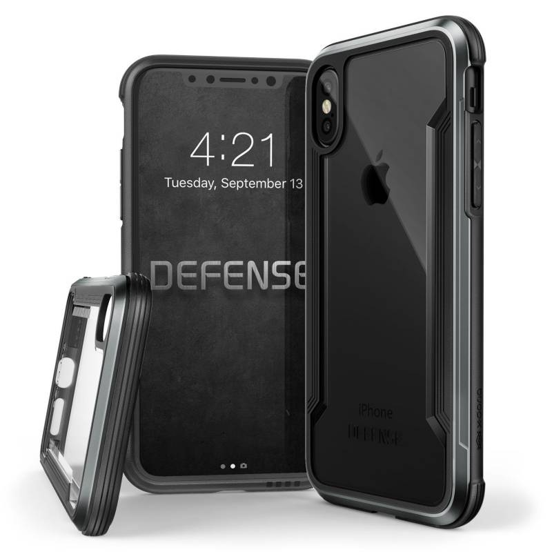 Xdoria - Estuche Xdoria Para Iphone X Defense Shield Negro