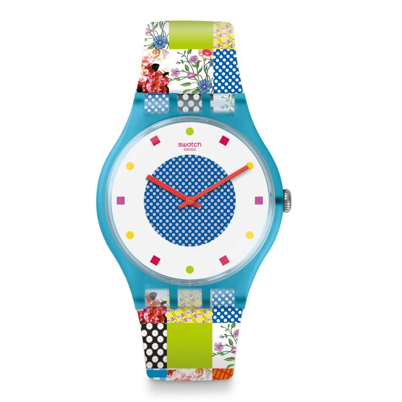 Swatch - Reloj Mujer Swatch Quilted Time SUOS108