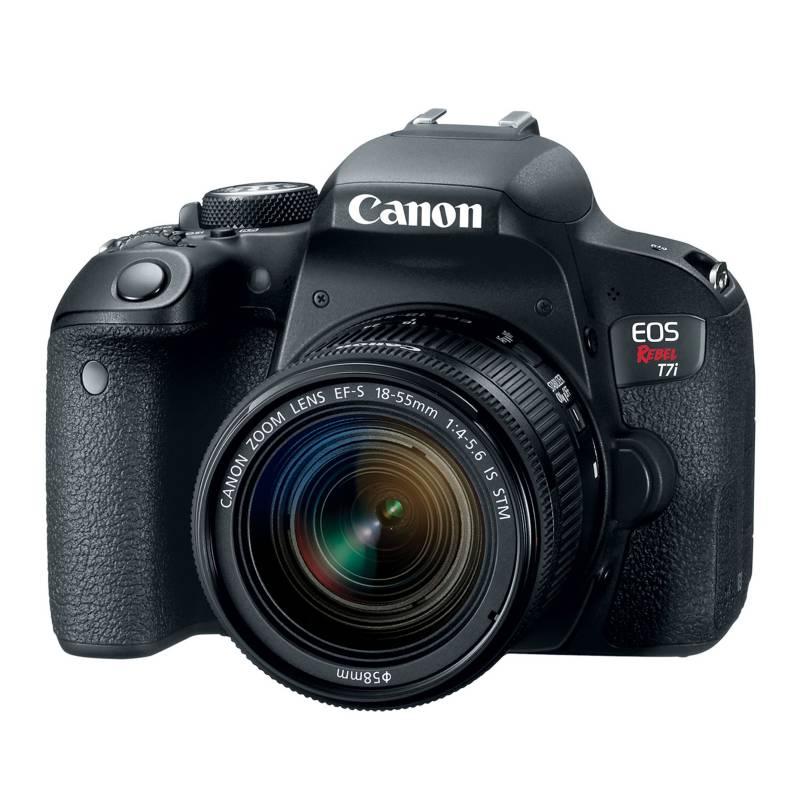 Canon - Cámara Eos T7i EF-S 18-55 IS STM