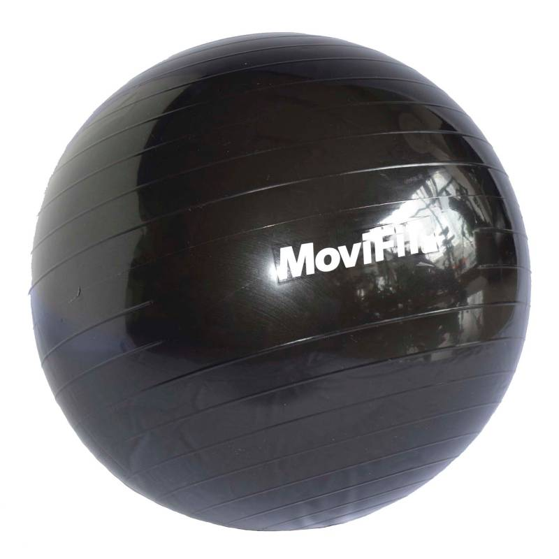 Movifit - Balón de Pilates 75 cm Negro