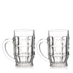 Cristar - Set x 2 Vasos Cerveceros Hamburgo