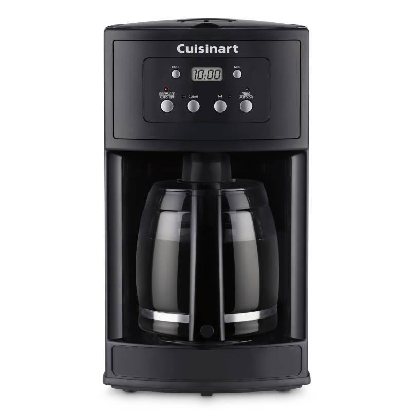 Cuisinart - Cafetera Programable 12 Tazas Negra