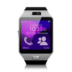 MyMobile - Reloj Inteligente Smartwatch Homologado MyMobile W201 Hero Plateado, Bluetooth.