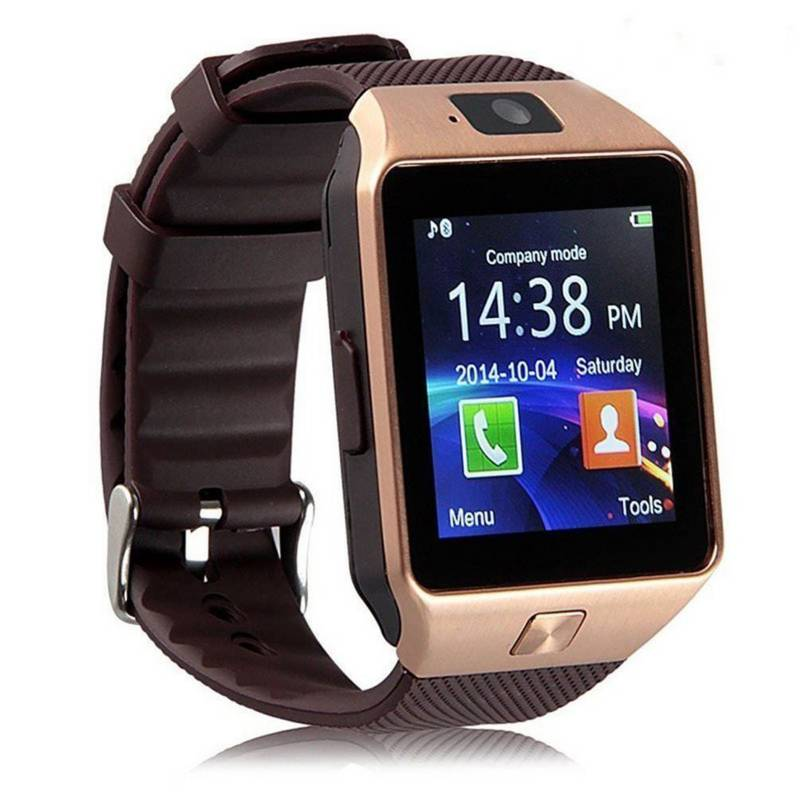 MyMobile - Reloj Inteligente Smartwatch Homologado MyMobile W201 Hero Dorado, Bluetooth.