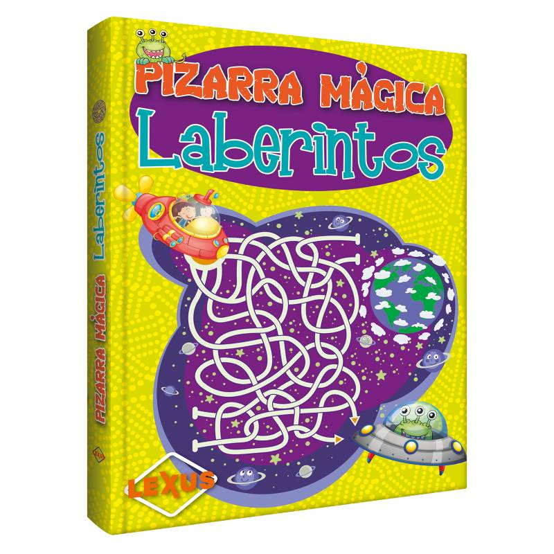 LEXUS - Pizarra mágica: Laberintos