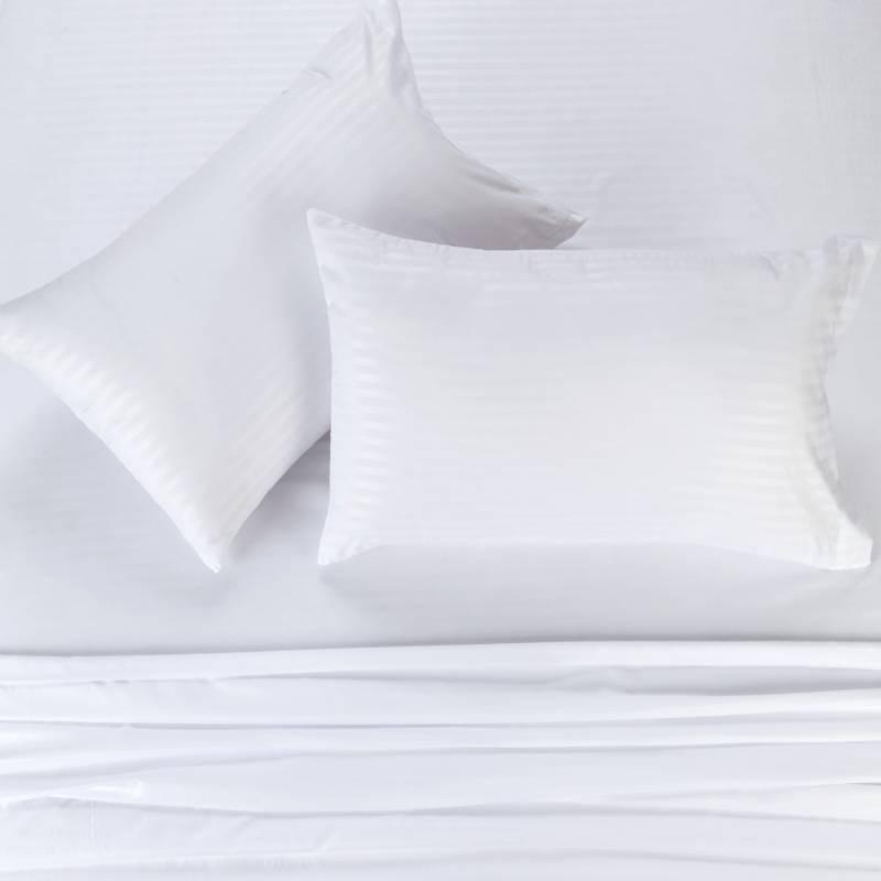 Brissa - Juego de Sábanas Microfibra Blanco