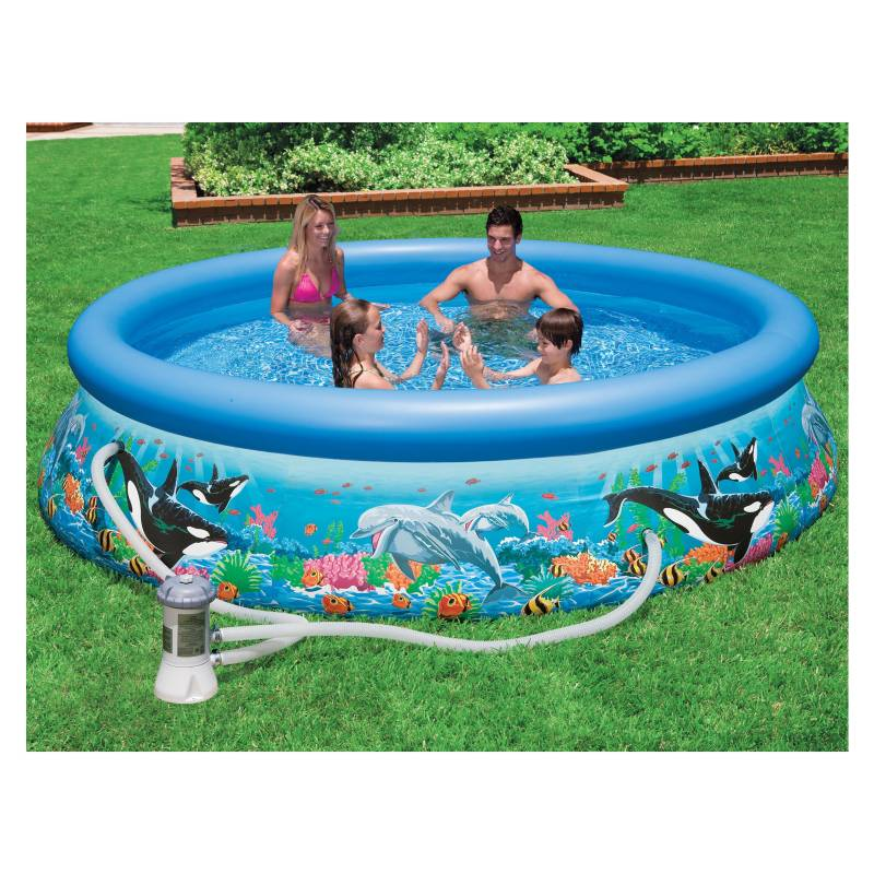 Intex - Piscina ocean reef easy set pool