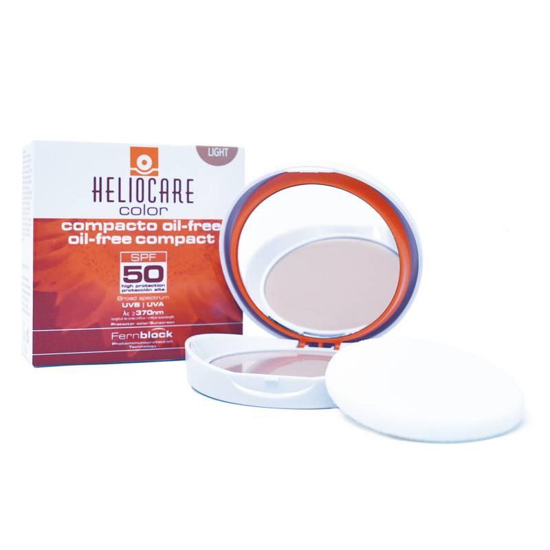 Heliocare - Polvos Compactos - Heliocare Oil Free Light