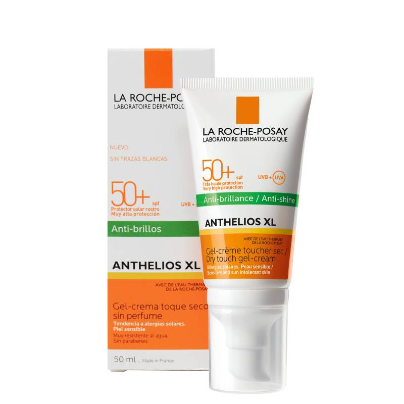 La Roche Posay - Bloqueador Solar - Anthelios XL Toque Seco Anti - Brillo