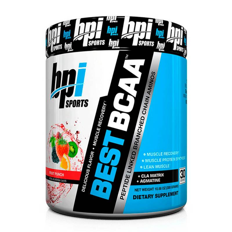 BPI SPORTS - Aminoácidos Best Bcaa Fruit Punch 30 SERV