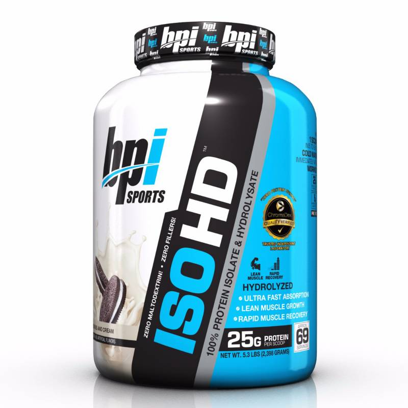 BPI SPORTS - Proteína ISO HD 69 Serv Cookies And Cream