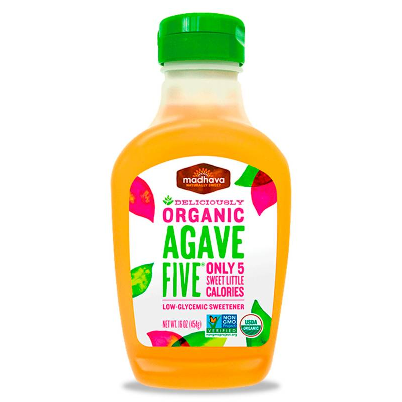 Madhava Sweetners - Endulzante orgánico Agave Five