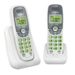Vtech - Teléfono Inalámbrico CS6114-2 Duo Blanco