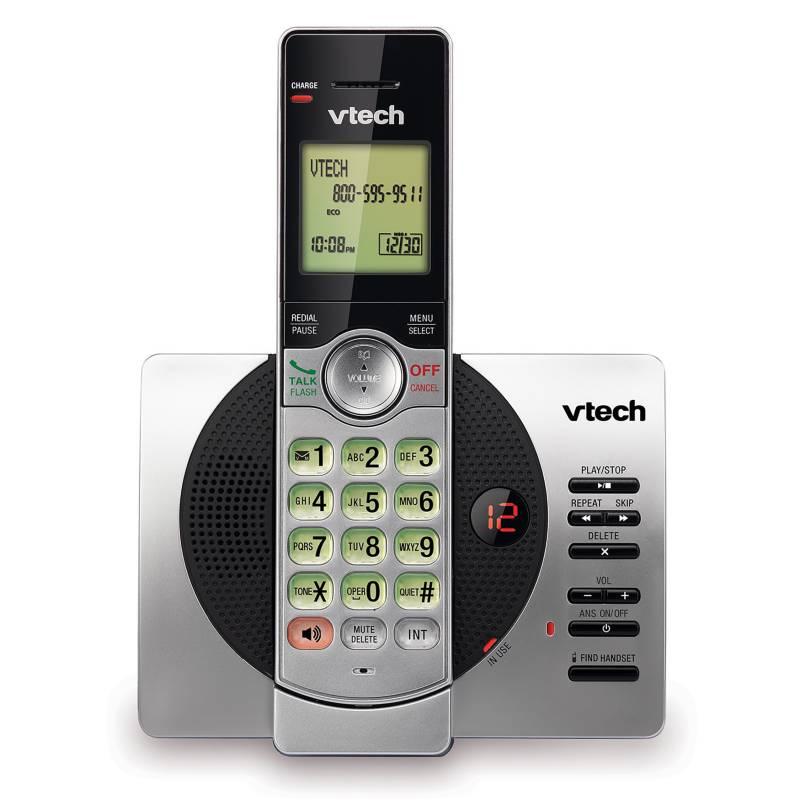 Vtech - Teléfono Inalámbrico CS6929 Contestador - Plateado