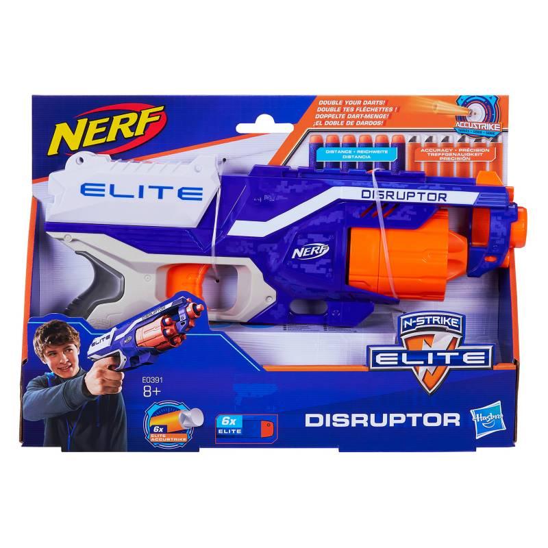 Nerf - Nerf Elite Disruptor Doble Dardos