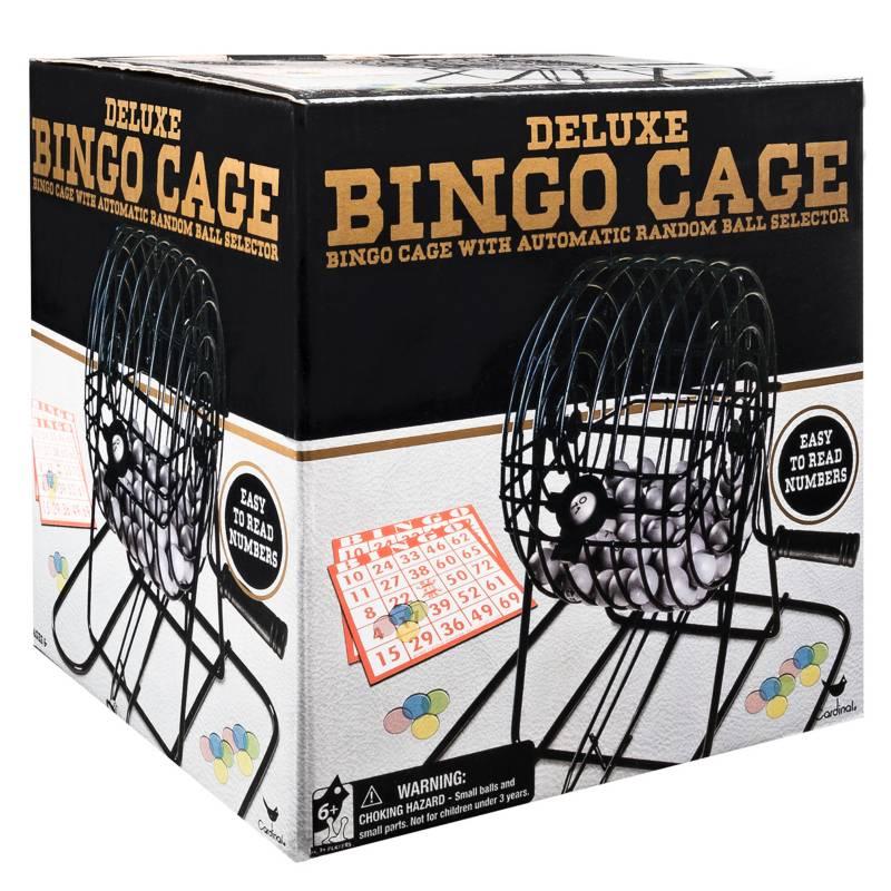 Juegos De Mesa Cardinal - Bingo Balotera De Lujo