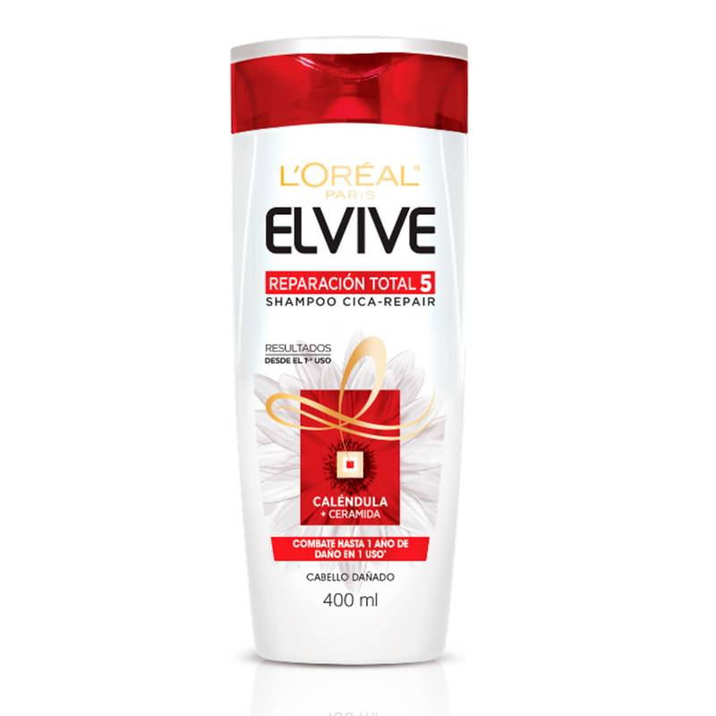 Loreal - Shampoo Elvive Reparación Total 5 400 ml